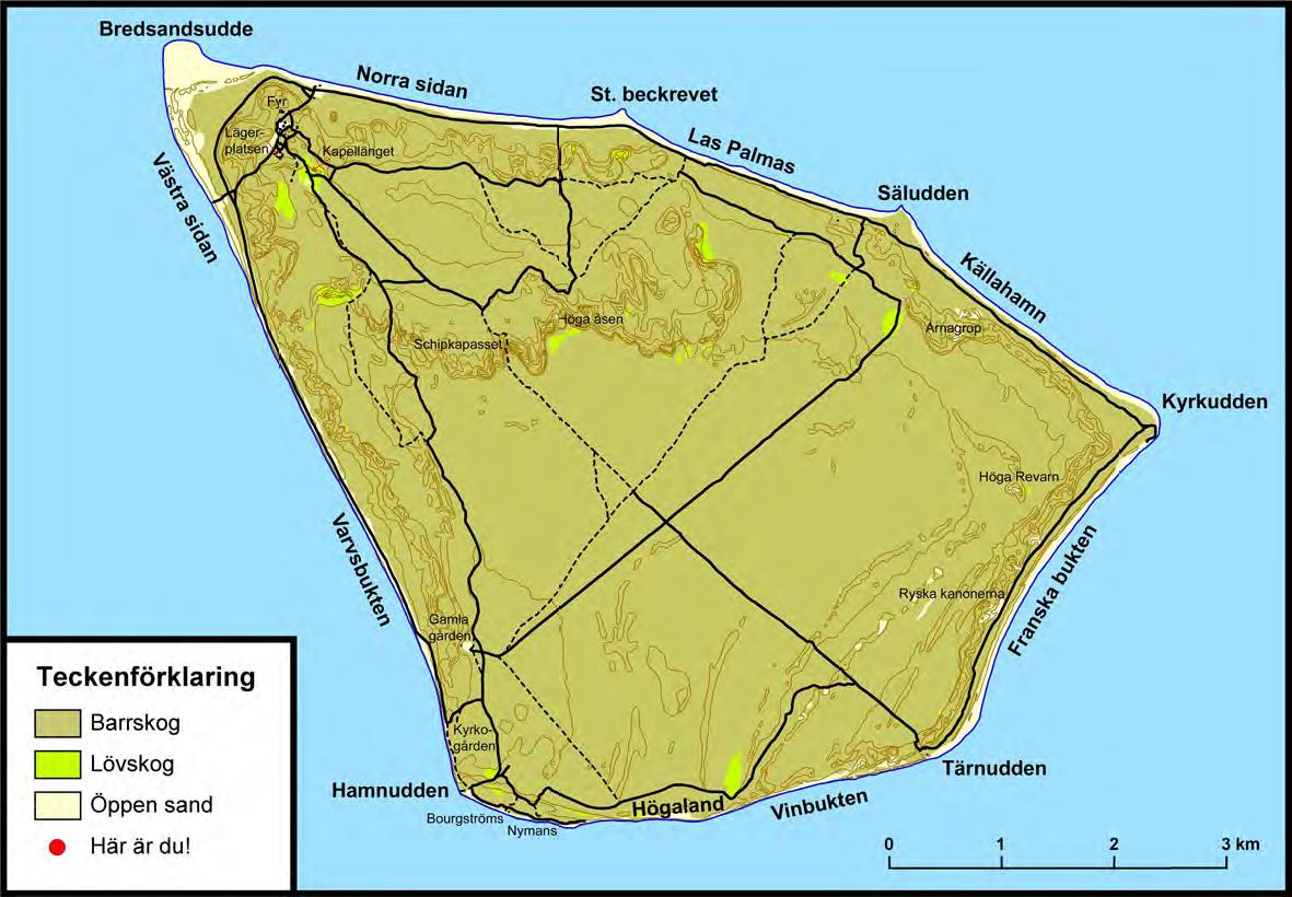 gotska sandön karta Sandöresor   Boka resan och boende på Gotska Sandön gotska sandön karta